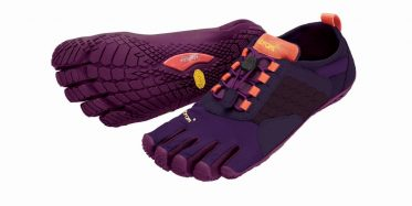 Zehenschuhe Vibram Fivefingers Trak Ascent violet