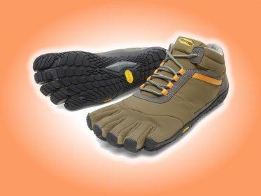 Zehenschuhe Trek Ascent insulated (khaki/orange)