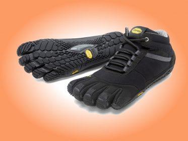 Zehenschuhe Trek Ascent insulated (schwarz/grau)