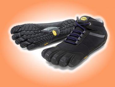 Zehenschuhe Trek Ascent insulated (schwarz/viola)