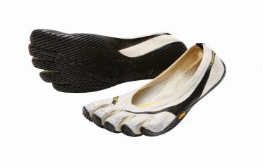 Entrada Zehenschuhe für Damen in Cremig Schwarz Grau