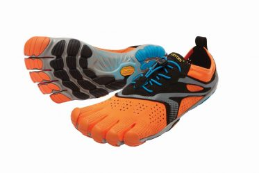 Laufschuh V RUN von Vibram Fivefingers in orange