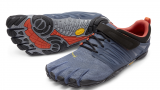 V-Train Vibram Fivefingers Fittness Zehenschuh in Grau / Orange