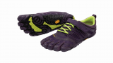 V-Train Vibram Fivefingers Fitness Zehenschuh in violet