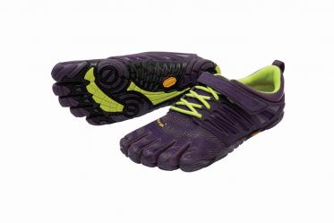 V-Train Vibram Fivefingers Fittness Zehenschuh in violet