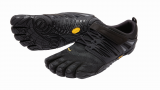 V-Train Vibram Fivefingers Fittness Zehenschuh in Schwarz