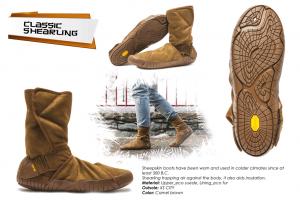 Vibram Furoshiki Boots Winter Classic Shearling