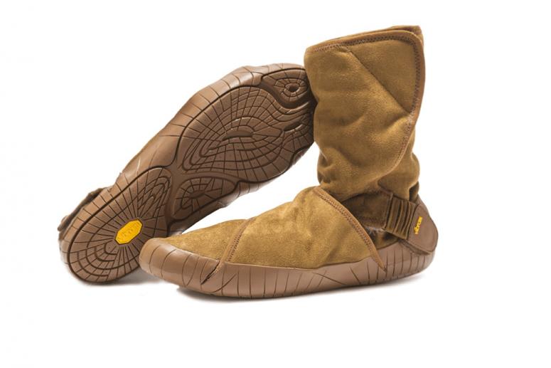 Furoshiki Boots Winter Classic Shearling camel brown