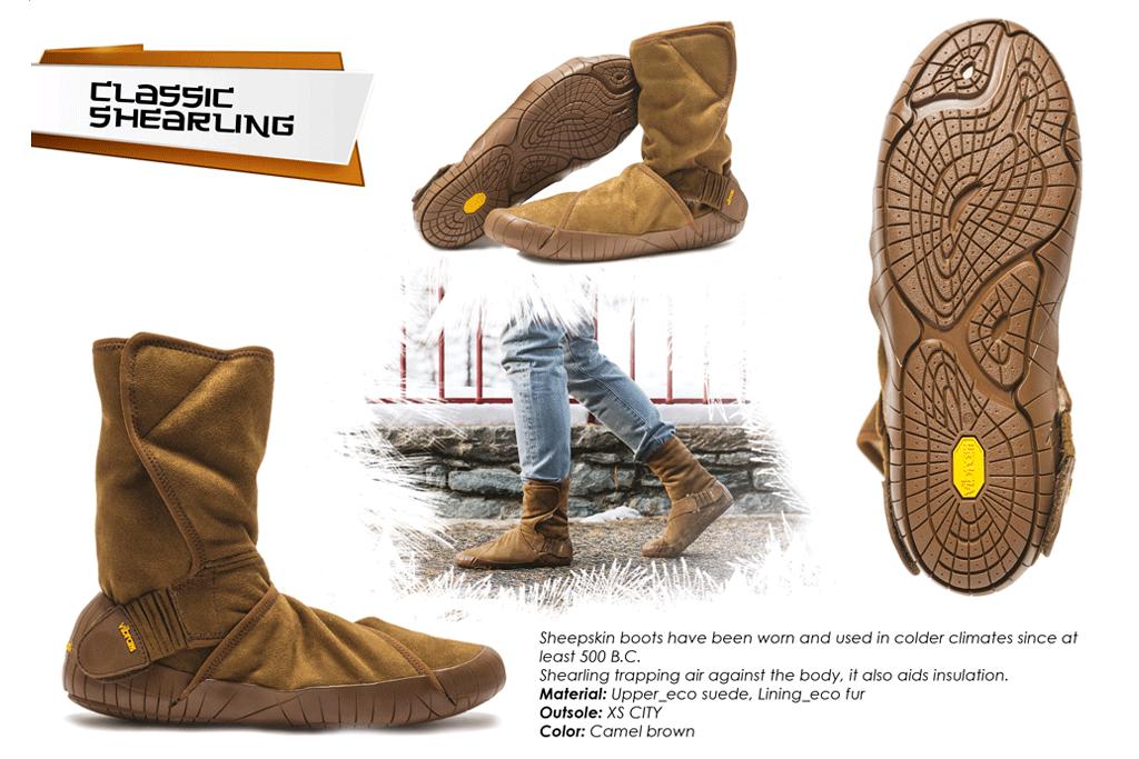 new concept 4af38 8a045 Furoshiki Boots Winter - Classic Shearling - camel brown · Vibram  FiveFingers Vibram Furoshiki Skinners