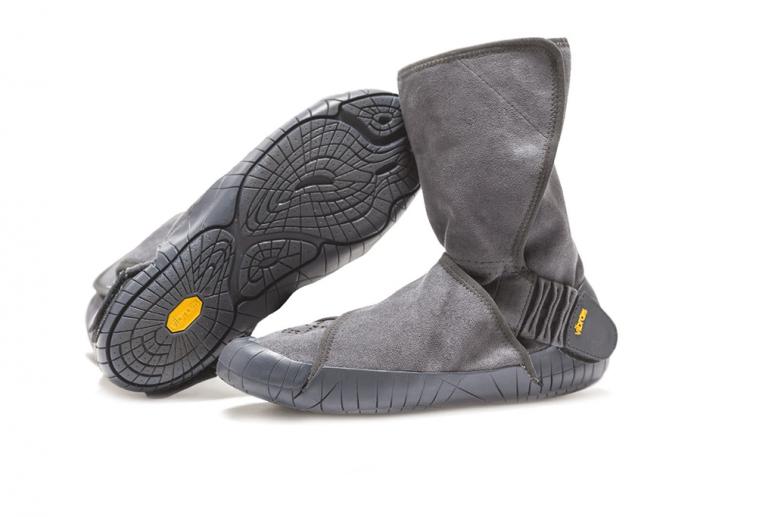 Furoshiki Boots Winter - Eastern Traveler - grau