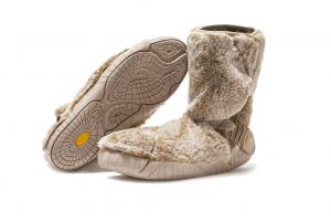 Barfussstiefel Vibram Furoshiki Boots Winter Lapland Beige