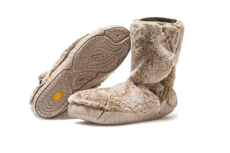 Furoshiki Boots Winter Lapland beige