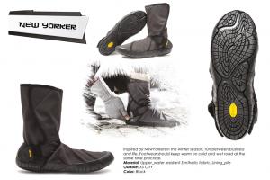 Vibram Furoshiki Boots Winterschuhe New Yorker