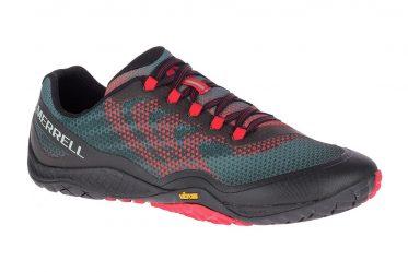 Merrell Shoes - Herren - Trail Glove 4 Shield - black / red