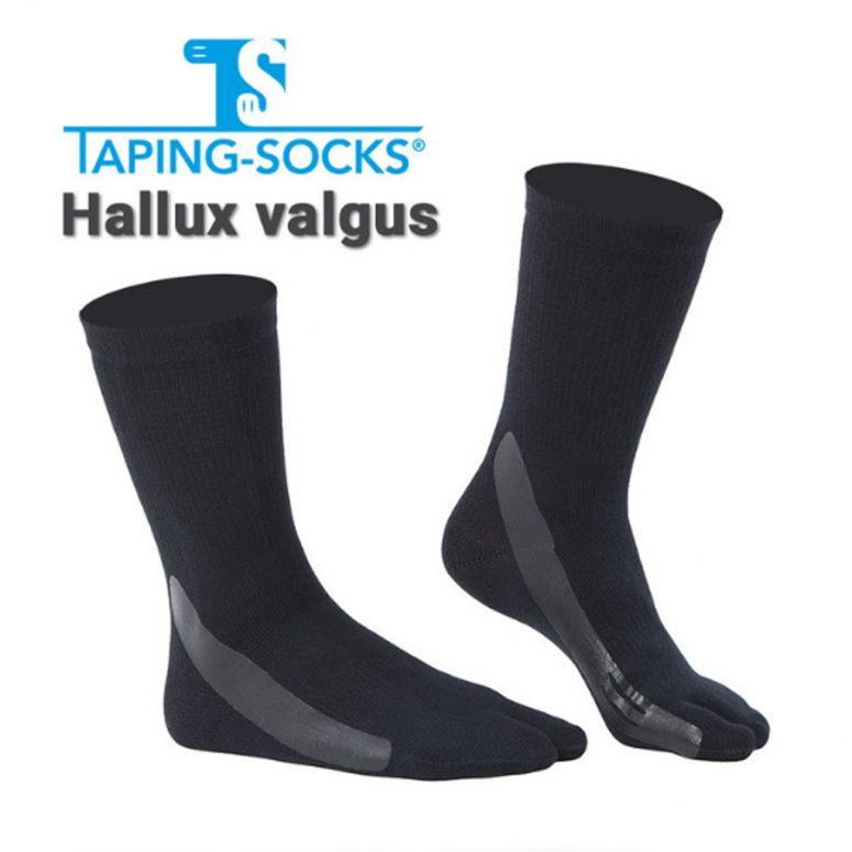 Taping-Socks Hallux-Valgus schwarz
